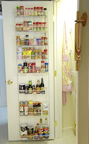 Get Quotations 18 Inch Wide Adjule Door Rack Pantry Organizer
