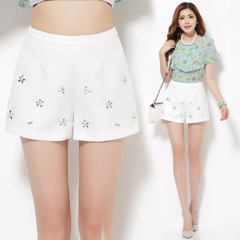 Buy New European Style High Waisted Shorts For Women Faux Leather ...