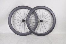 Super light 700C 60mm road bike clincher carbon aero wheelset/rim, Chinese cheap OEM road bike carbon wheelset/rim 60mm clincher