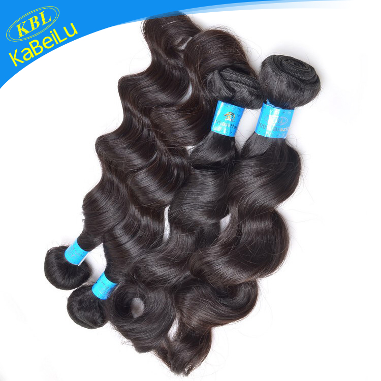 Curl or Wave holds well after washing 6a remy brazilian virgin hair extension