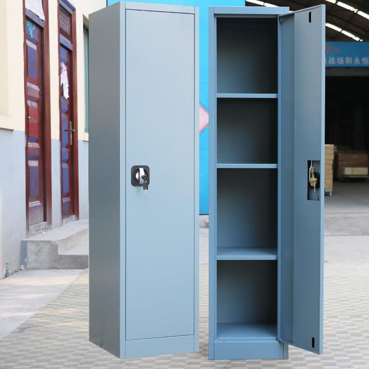 cheap 1 door army steel hanging clothes wardrobe cabinet single door  military locker