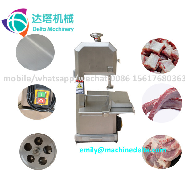 Meat band saw cutting machine/ band saw for butcher /meat and bone sawing machine