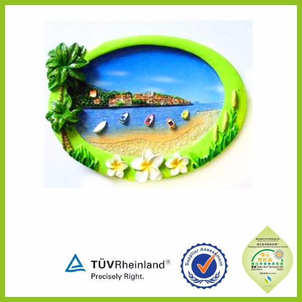 Cheap 3d tourist souvenir custom soft pvc fridge magnets
