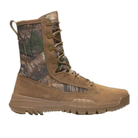 8 inches Cow Suede Super light Field leather Camouflage Hunting Boot