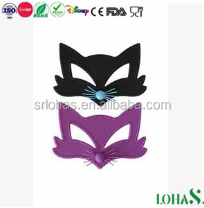 Sex Products Factory Funny Fox Face Silicone Sex Party Mask