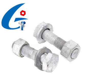 Gr8.8/10.9 High Tensile H.D.G Structural Bolts Assembly