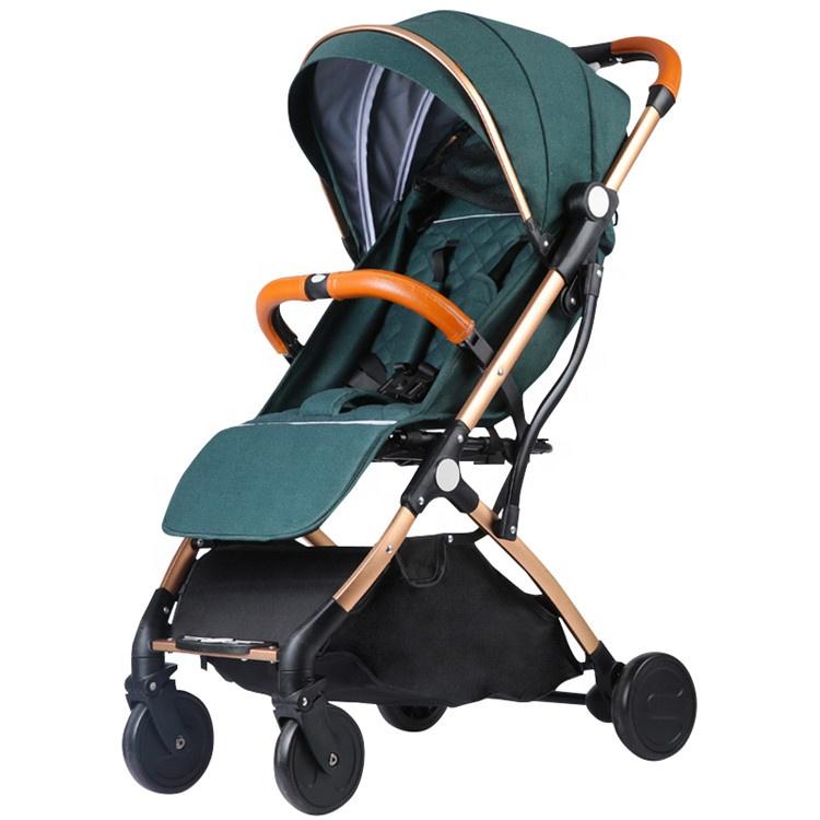 Factory supply durable stock  hot mom baby pram stroller 360