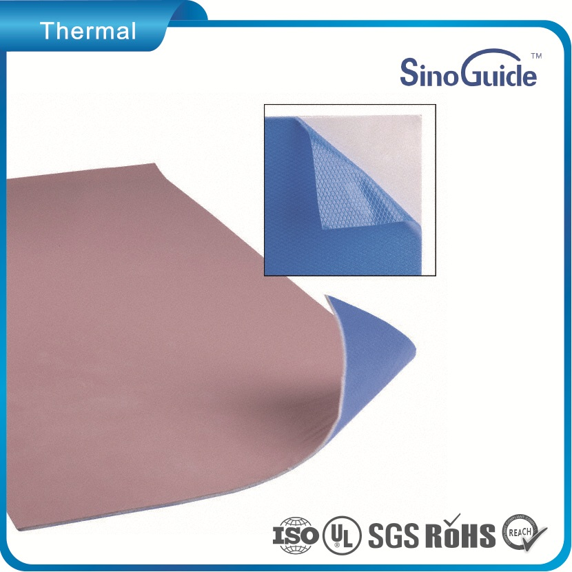 1.1W/m.k Thermal Condcutivity Fiberglass Reinforcement Thermal Pad