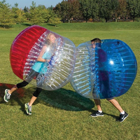Factory price human inflatable bumper ball /soccer bubble TPU