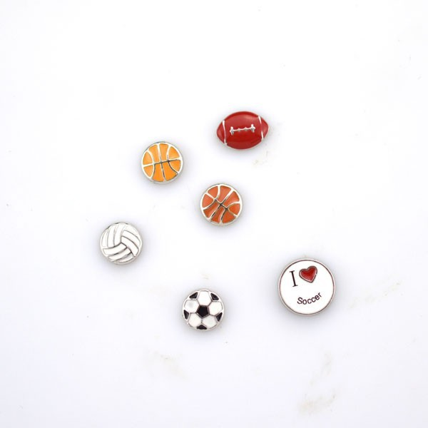 Wholesale new style floating <strong>charm</strong> sports