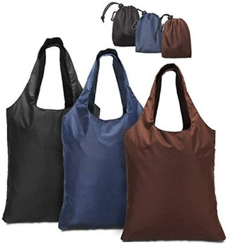 45760f28b30 Reusable Grocery Bag With Attached Pouch And Carabiner