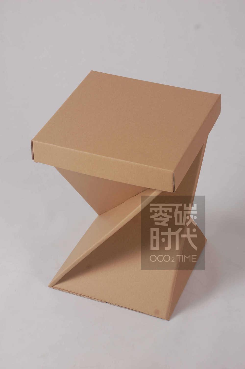 2015 heißer verkauf gute kapazität karton sitz/papier stuhl gewellte