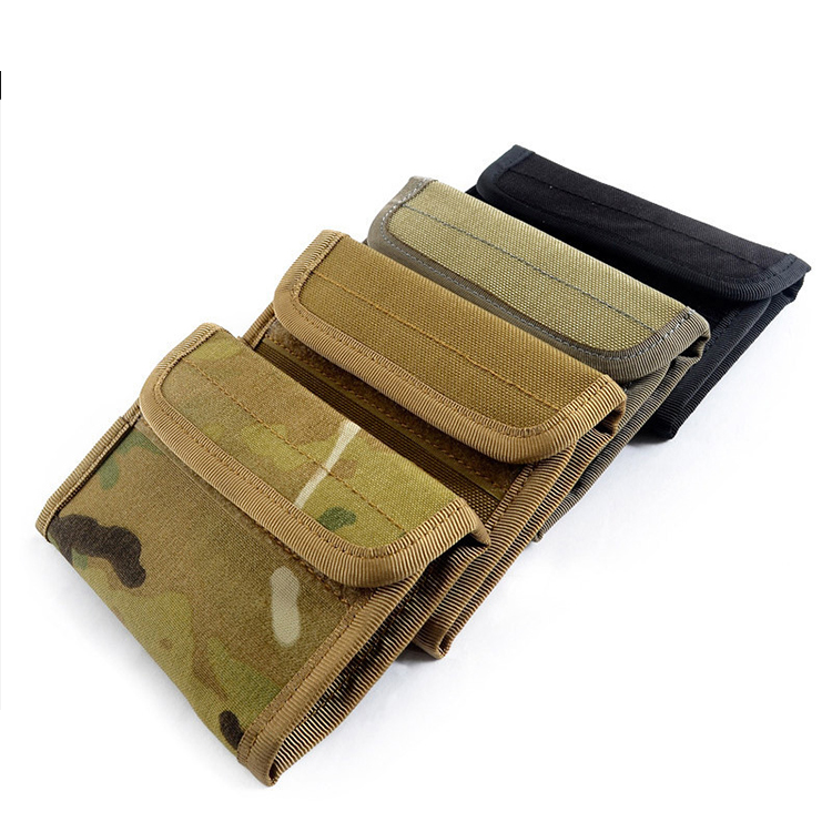 Outdoor military tactical wallet with multiple screens