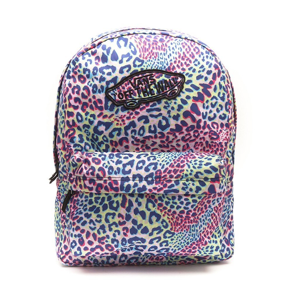 978d4c1a2752 Buy Vans Womens Realm Backpack Multi True White Leopard in Cheap ...