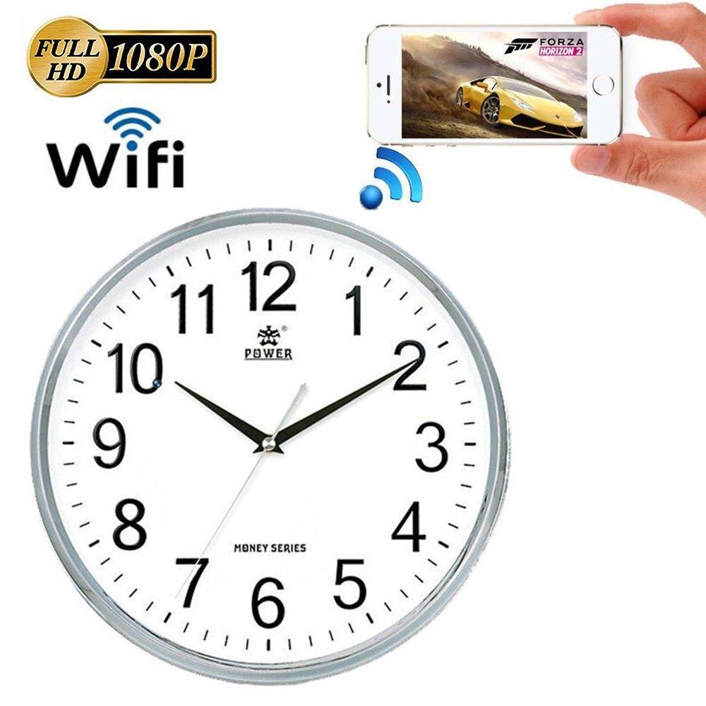 Weke newest wifi wall clock hidden camera p2 p ip dvr nanny weke newest wifi wall clock hidden camera p2 p ip dvr nanny camwifi recording security camera amipublicfo Images