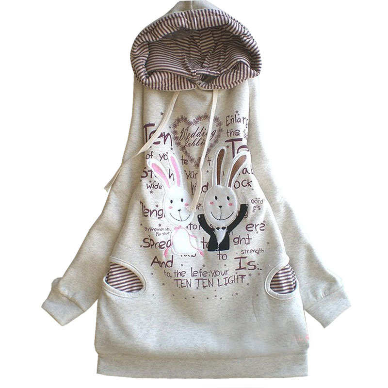 Plus Velvet Cotton Maternity Hoodie Sweatshirt Fleece Tops Pullover Clothing Clothes For Pregnant Women Autumn Winter Outerwear
