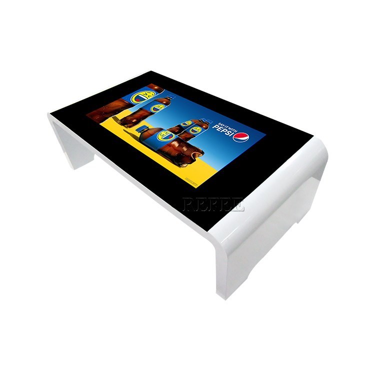 Interactive restaurant table 42 inch hd touch kiosk all in one screen