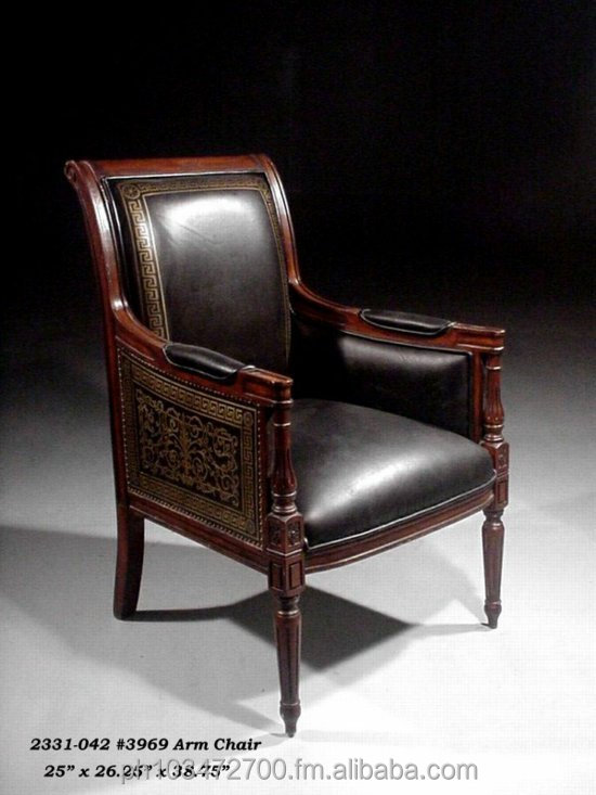 Arm Chair Antique European Daniele Furniture 2331-042 #3969
