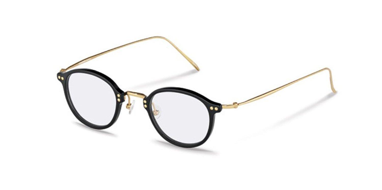 152dad33f3 Get Quotations · Rodenstock R7059 A Black   Gold Unisex Eyeglasses  Prescription Eyewear Frames ...