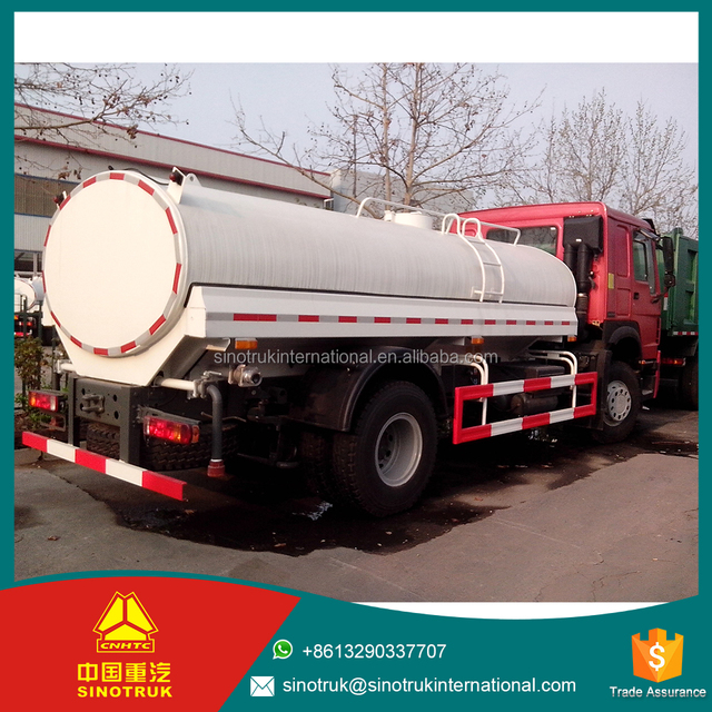 SINOTRUK HOWO water truck dump garbage truck electric windows Standard configuration