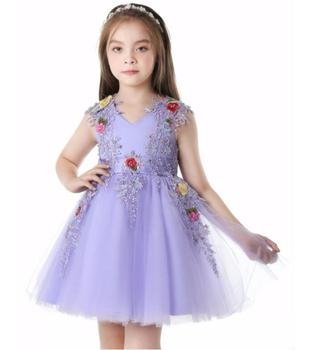2018 beautiful children top wholesale girls White Lace Long-sleeve Baby Dress Hot Selling Baby Girl 1st 2nd Birthday Dresses Par