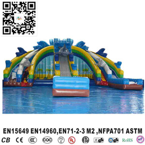 giant inflatable water slide playground ,used water slides for sale,inflatable swimming pool