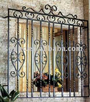 Wrought Iron Window Design