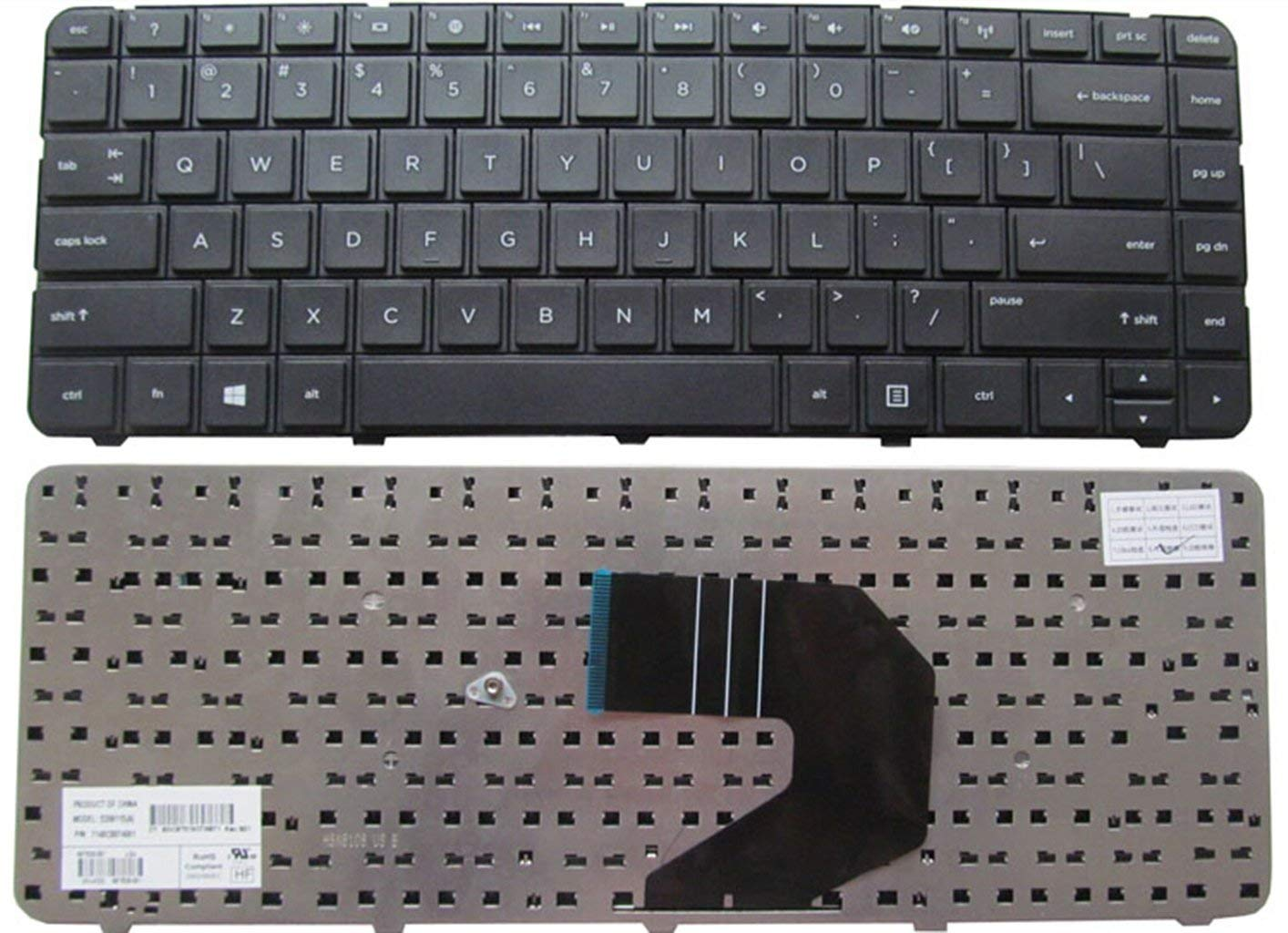 KEYSHEN Laptop Notebook Replacement Keyboard For HP G6 CQ43 450 CQ57 430 431 G4-1056TU 435 436 US Layout
