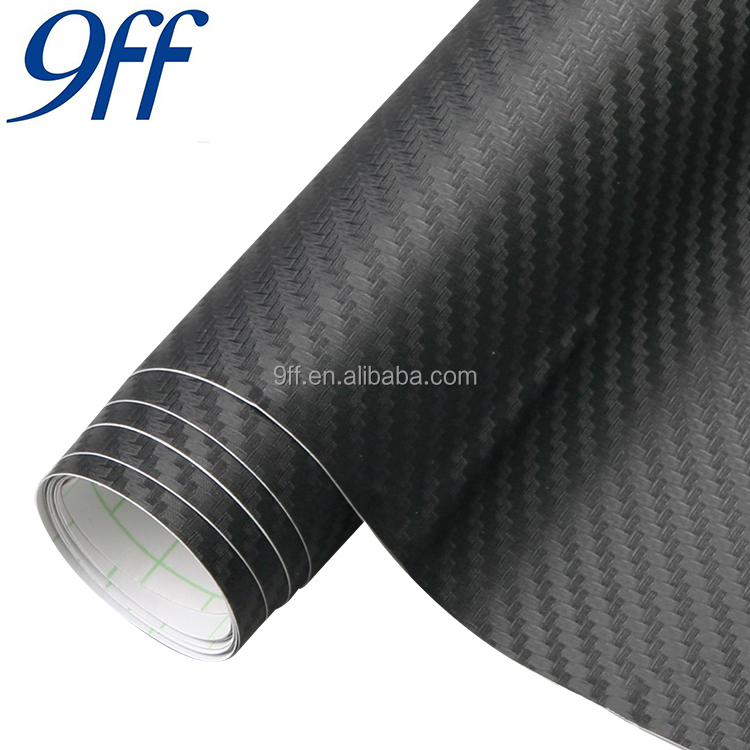 Decoration Car Film Roll 3D Carbon Fiber Vinyl Carbon Fiber Car Cover Vinyl wrapping plastic vinil film