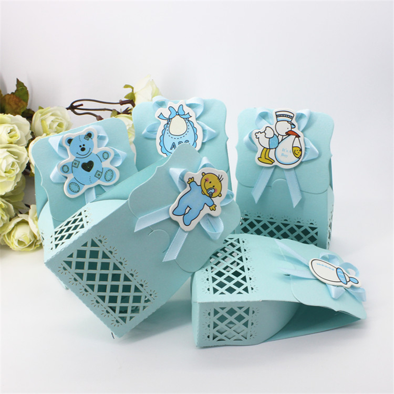 Cute Baby Shower Event Party Supplies Decoration Boy Paper
