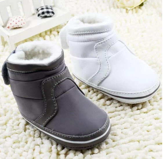 Baby Boys Girls Shoes Soft Sole Kids Toddler Infant Baby Boots Prewalker First Walkers 29 Colors