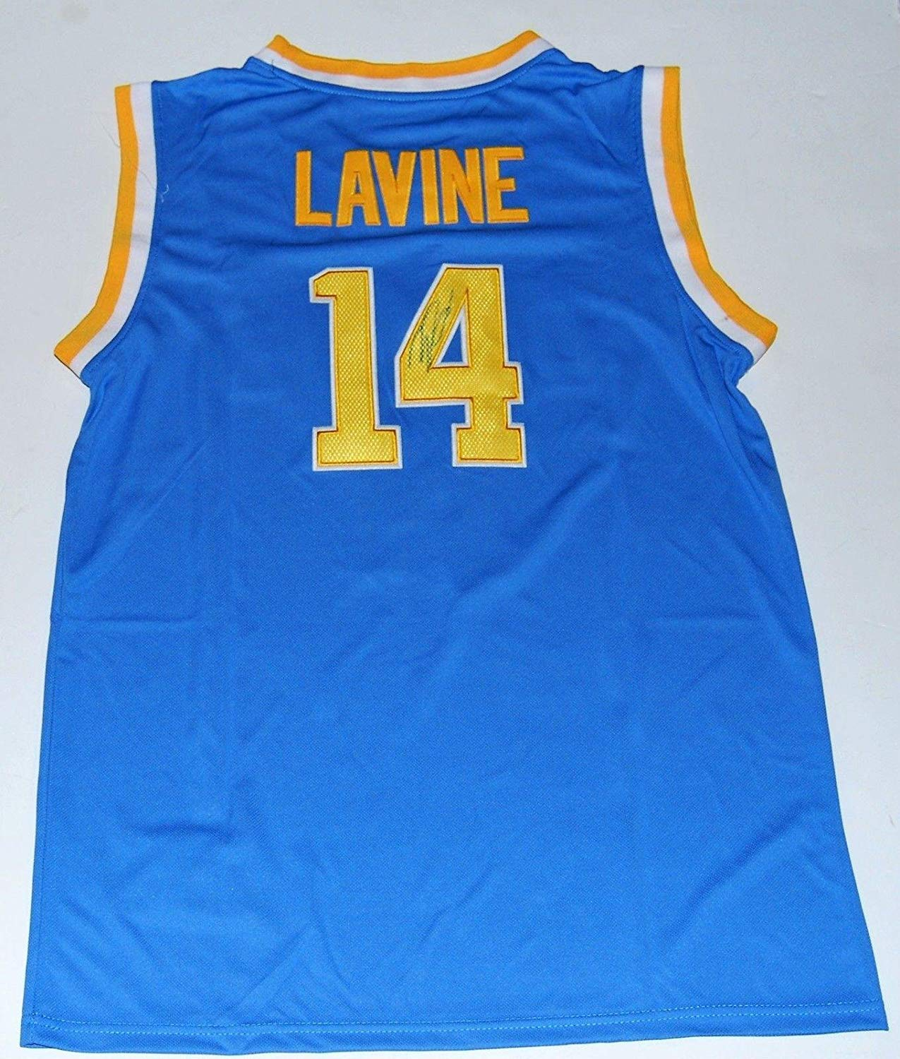 e06406bd3 Get Quotations · Zach LaVine Signed Jersey - UCLA BRUINS)     W COA -  Autographed College Jerseys