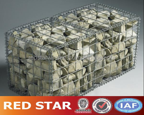 gabions wire cages rock retaining wall