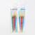 High quality shinny 5 colors acrylic professional liner nail drawing pen detail design brush nail art liner brush for nail