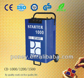 good quality cheap price wheel portable professional truck battery chargers with power battery bank