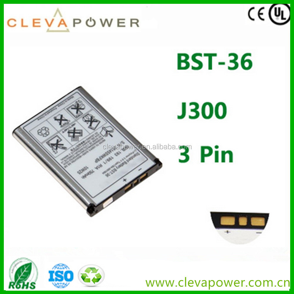 Cell Phone Battery for Sony J300 T270 W200