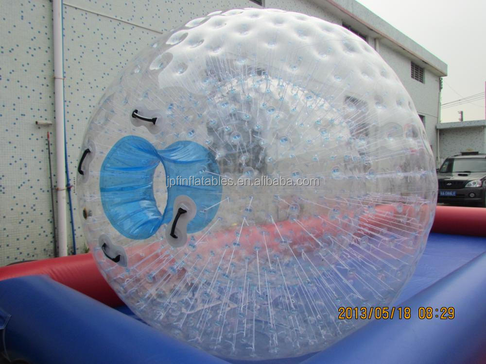 Multi color inflatable wholesale water zorb ball for sale