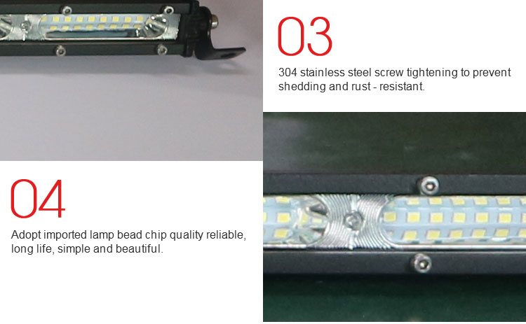 Super bright 113cm 378w car strobe led light bar wholesale China truck driving lamp bar led  lights