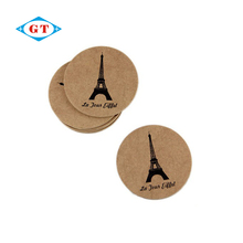 High quality drink coaster printing round cork coaster