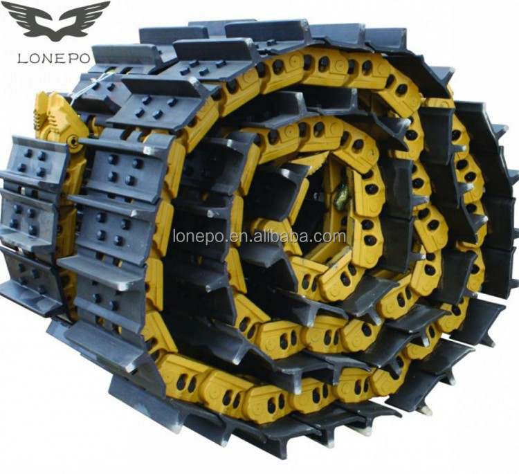 Cat track chain dozer D3 D4 D5 D6 D7 D8 D9 lubricated track link group assy