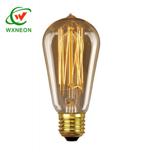 Retro Incandescent Edison Fixtures E27 40W Vintage Light bulb