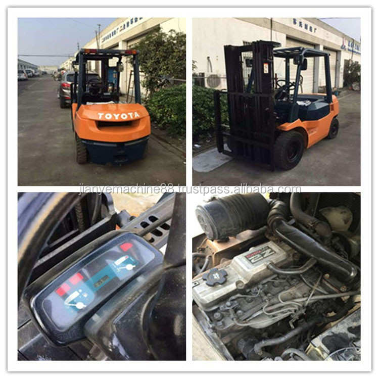 Good Condition Used Toyota Forklift Dimensions
