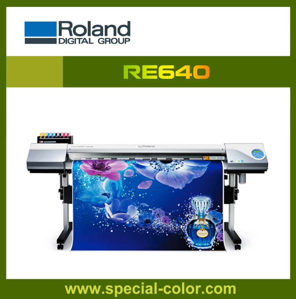 Roland Re 640 Large Format Printer,1.62m.eco solvent printer