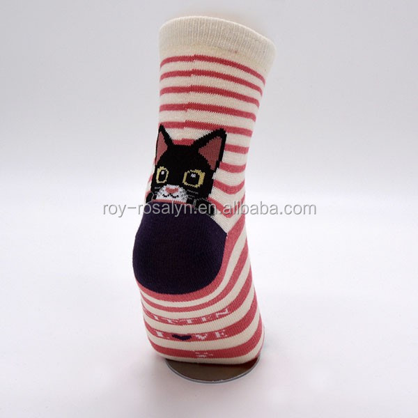 New coming OEM quality animal printed ankle socks with good prices