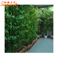 Wholesale Outdoor Artificial Lucky Bamboo Plants Artificial Bamboo Tree
