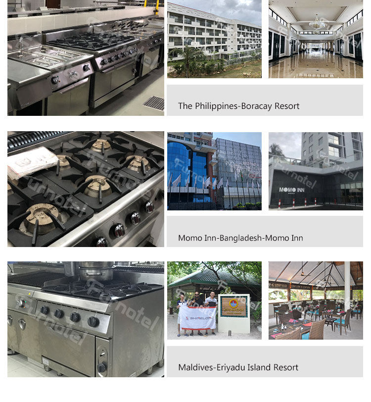 High Performance Western Food Restaurant Kitchen Equipment 700 Gas Cooking Range Chinese Manufacturers