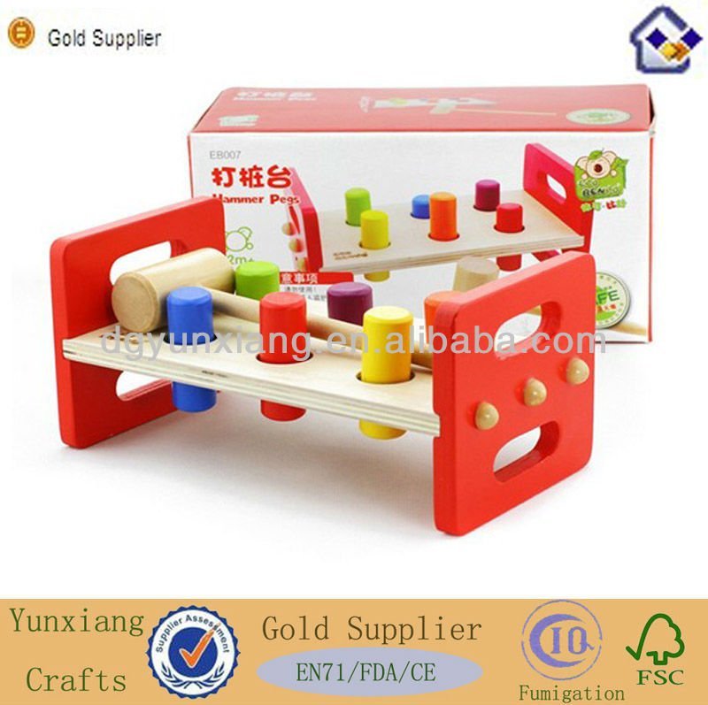 Wood educational toys