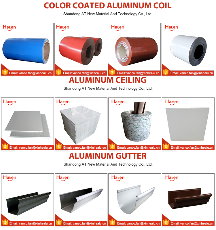 Embossed Stucco coated aluminum coils for Africa market roofing sheet