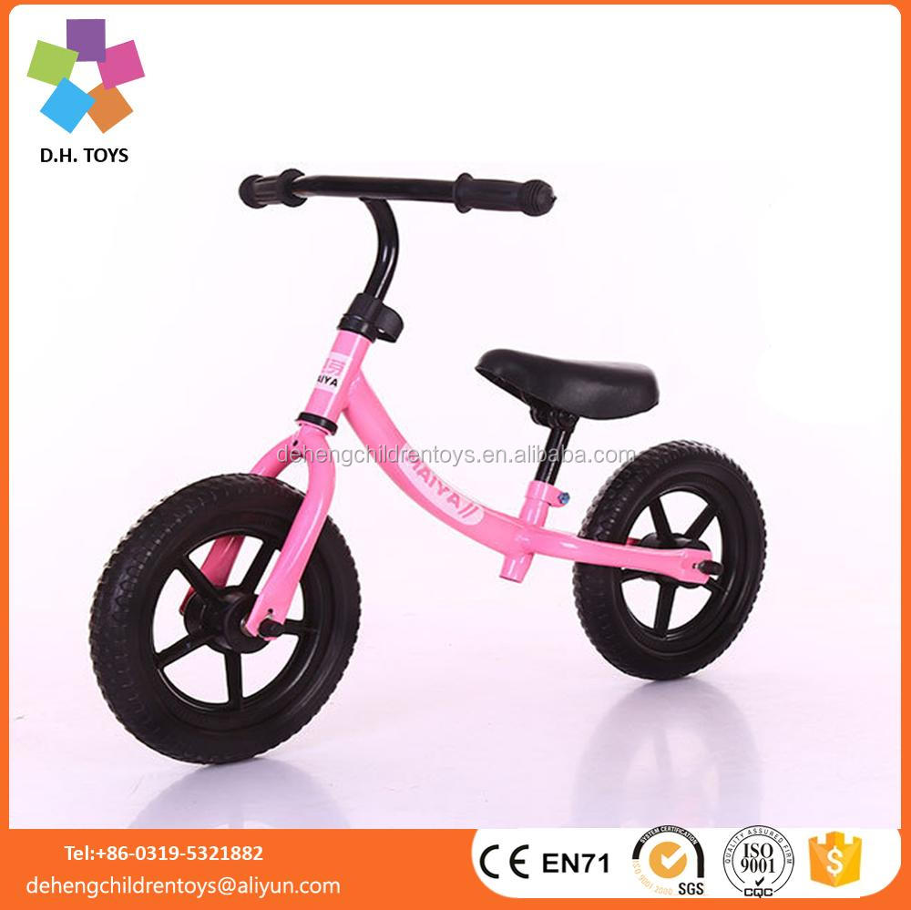 Best selling 12 inch kid bike balance no traning wheel/EN71 kids bike balance bike/cheap wholesale child bicycle no pedal