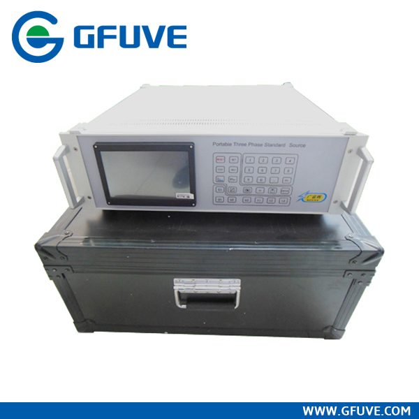 GF302D 100 Amp 3 phase electric energy meter calibration test bench